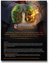 ZERBAXA® (ceftolozane and tazobactam) Electronic health resource for Epic (EHR) Thumbnail – Click to Download