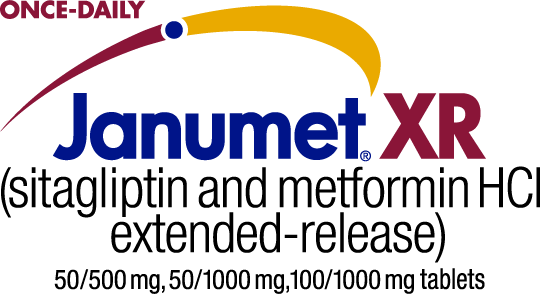 JANUMET® XR (sitagliptin and metformin HCl extended-release) tablets